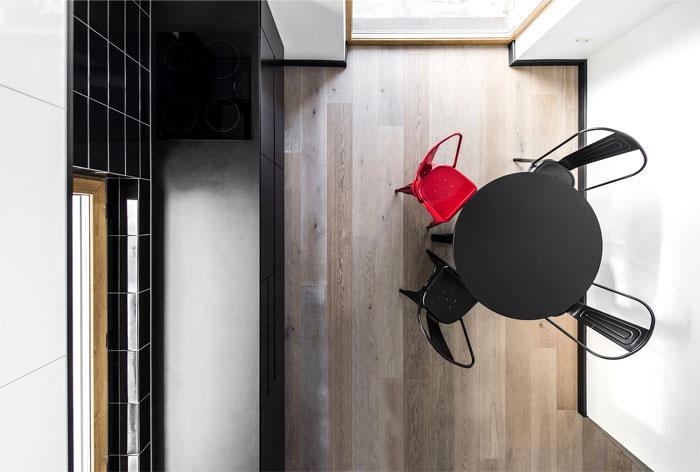 open floor plan project interjero architektura 3
