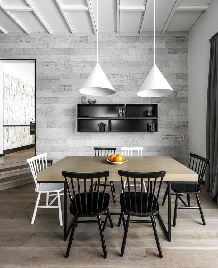 open floor plan project interjero architektura 4