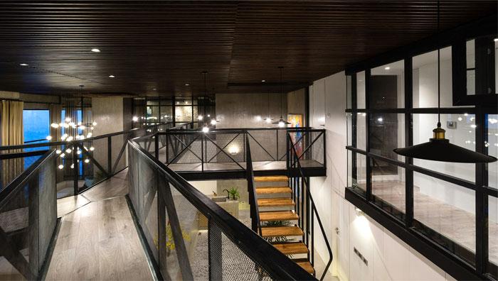 two storey residence hanoi 11