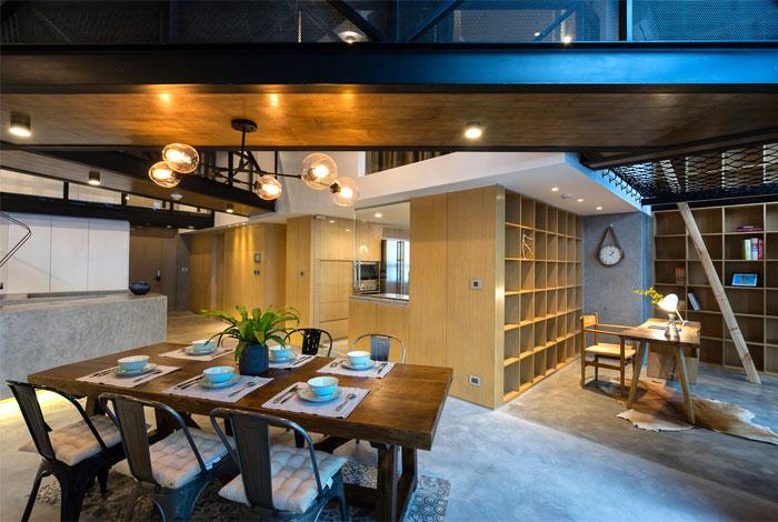 two storey residence hanoi 12