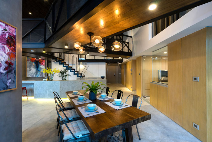 two storey residence hanoi 13