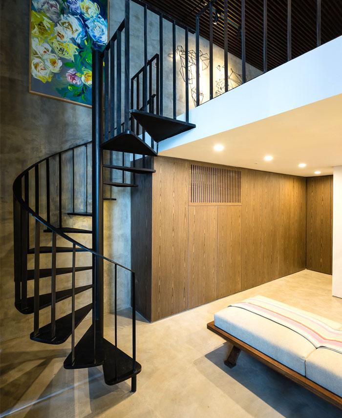 two storey residence hanoi 21