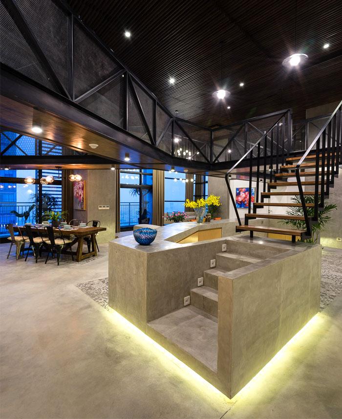 two storey residence hanoi 24