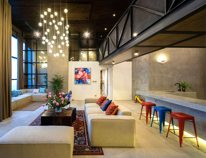 two storey residence hanoi 9