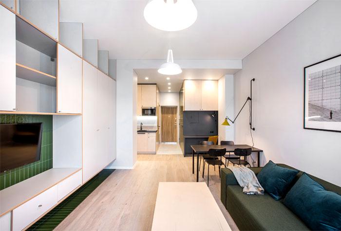 studio apartment vilnius simona vilute 18