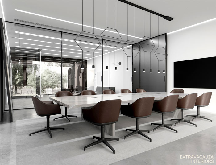 extravagauza interiors glazed office 13