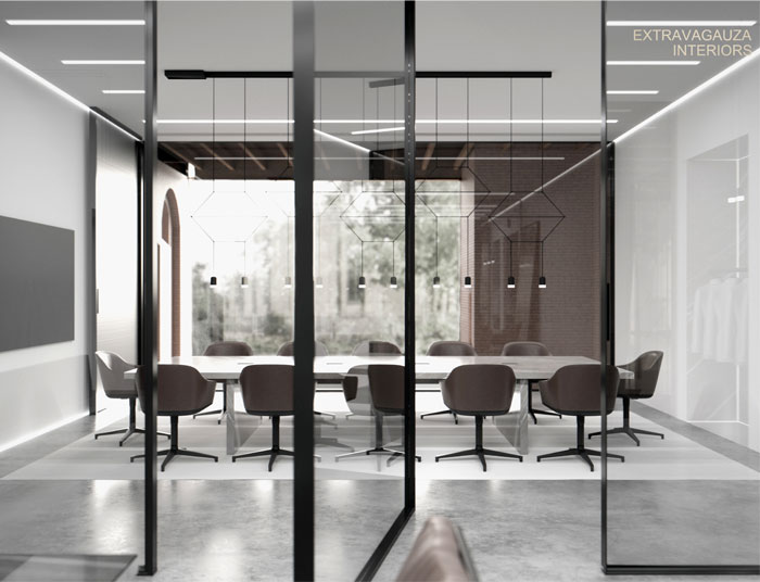 extravagauza interiors glazed office 16