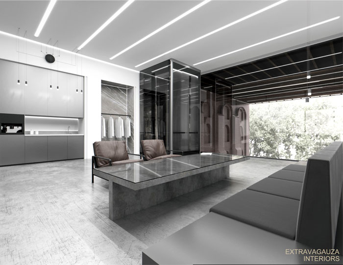 extravagauza interiors glazed office 17