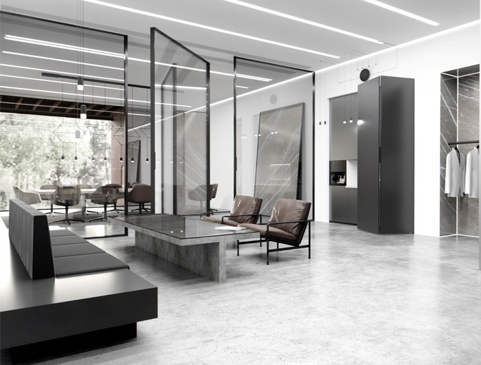 extravagauza interiors glazed office 21