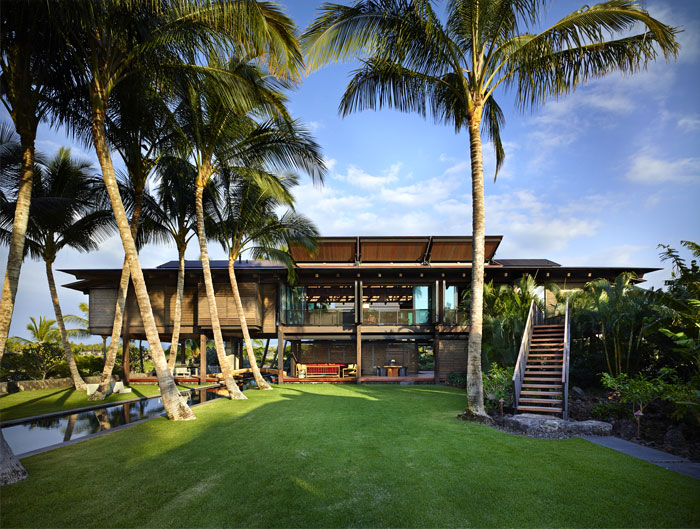 hawaiian home tropical landscape 15