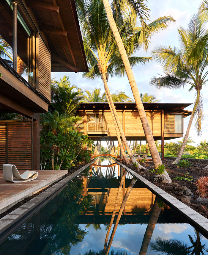 Hawaiian Home Design Ideas:  Hawaiian Pavilions With Beautiful Tropical Landscape