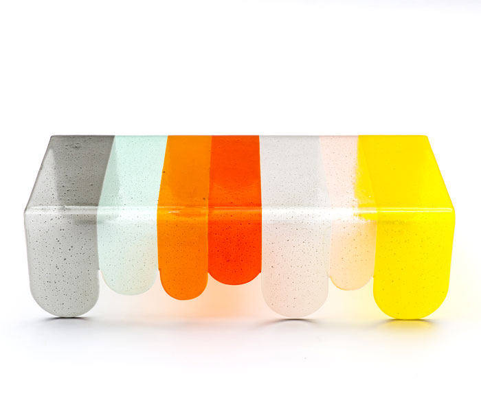lunapark coffee table murano glass 1