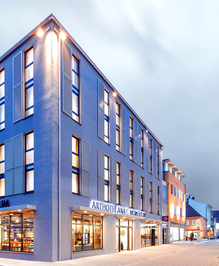 dfrost retail architecture arthotel ana momentum 21