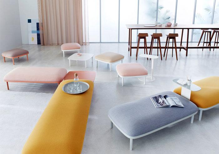 modular seating system ophelis sum 2