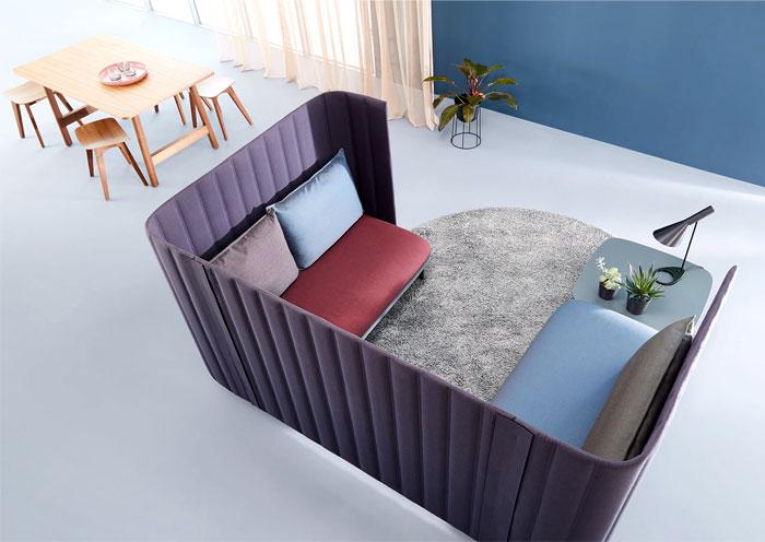 modular seating system ophelis sum 9