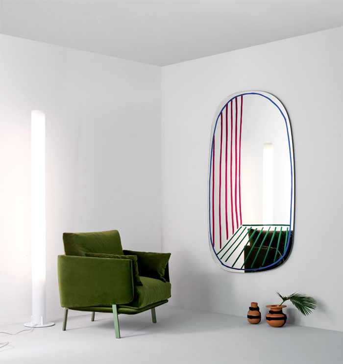 bonaldo new perspective mirror 3