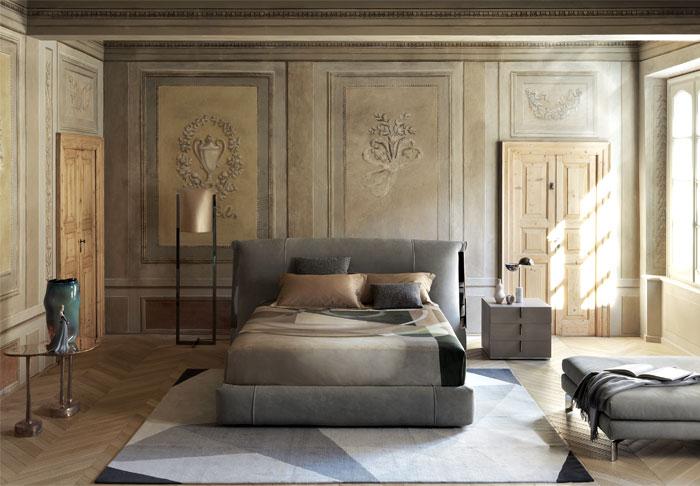 flou double bed amal 2