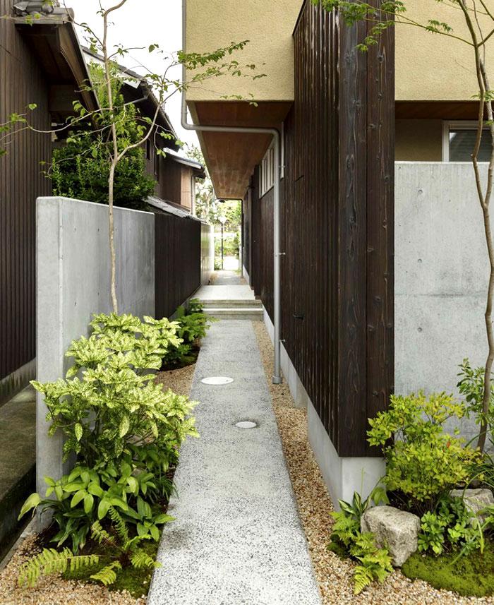 Small Japanese Garden Zen Kyoto Japan