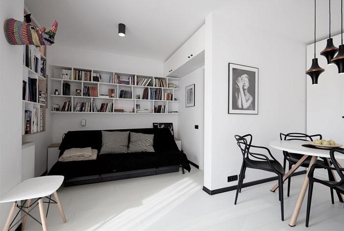 40 Sqm Studio Apartment Renovation By Alex Calin Interiorzine
