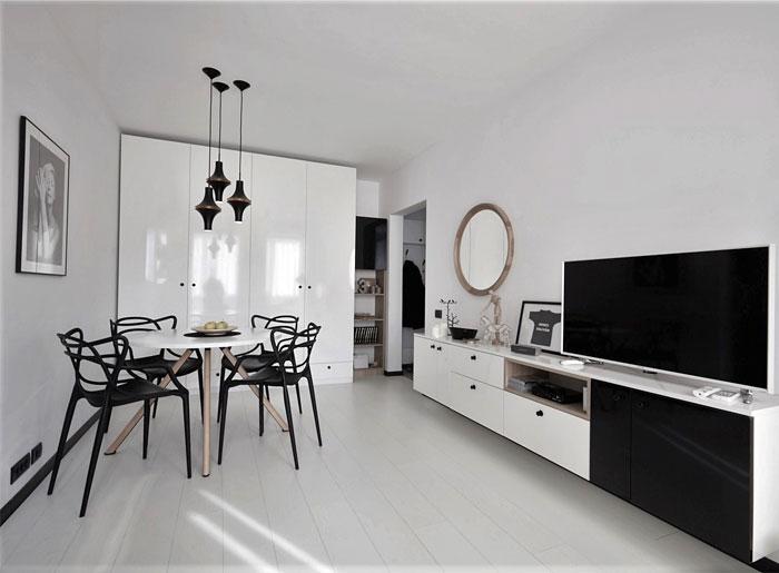 40 sqm studio apartment renovation 8