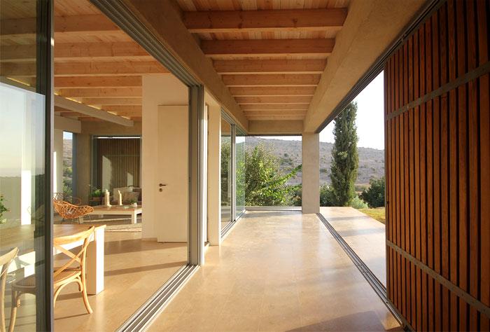 golany architect house sea galilee 12