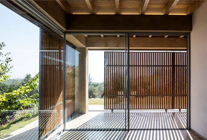 golany architect house sea galilee 13