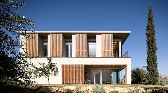 golany architect house sea galilee 17