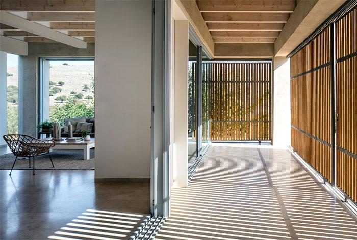 golany architect house sea galilee 19