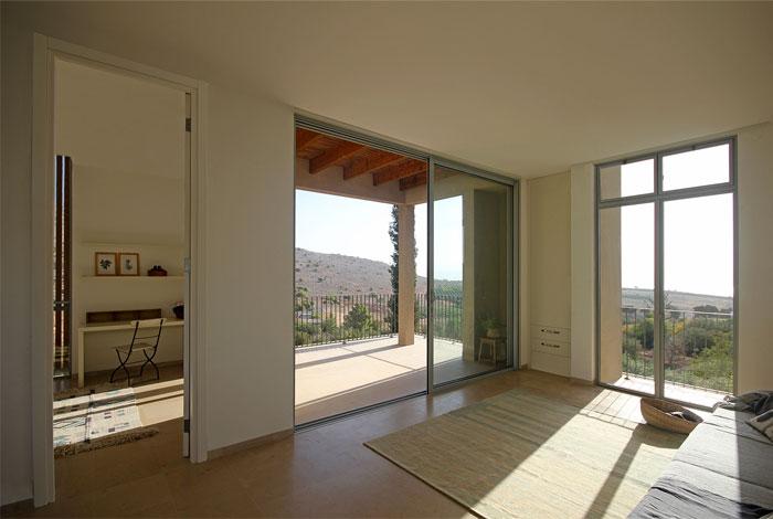 golany architect house sea galilee 21