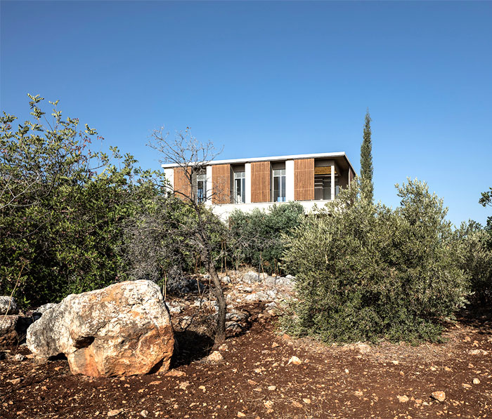 golany architect house sea galilee 23