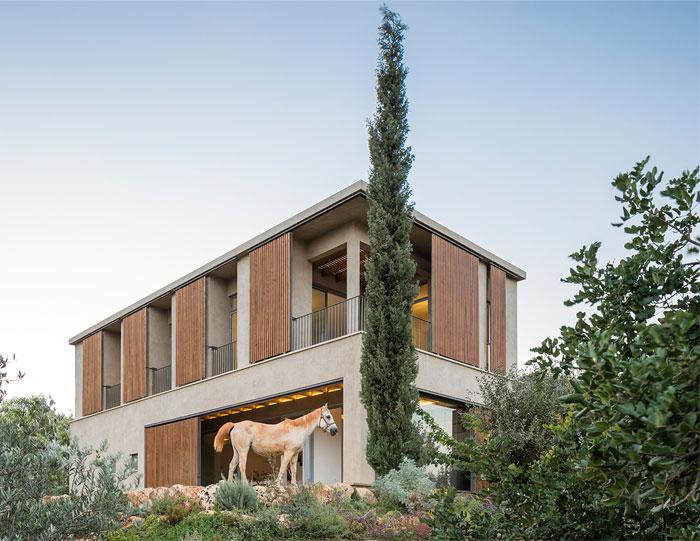 golany architect house sea galilee 24