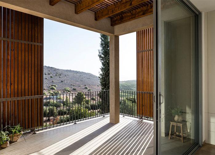 golany architect house sea galilee 8