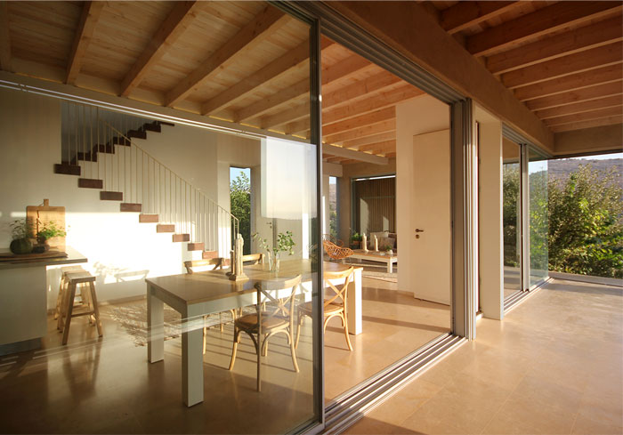 golany architect house sea galilee 9
