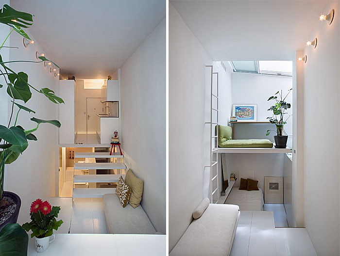 how to design small apartment use levels