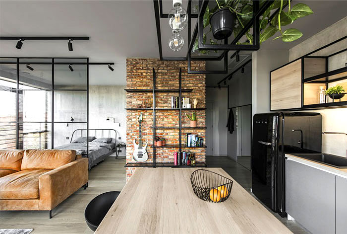 50 Small Studio Apartment Design Ideas 2020 Modern