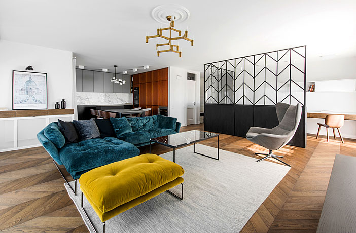 Luxury Apartment With Signature Interior Design By Interjero Architektura Interiorzine