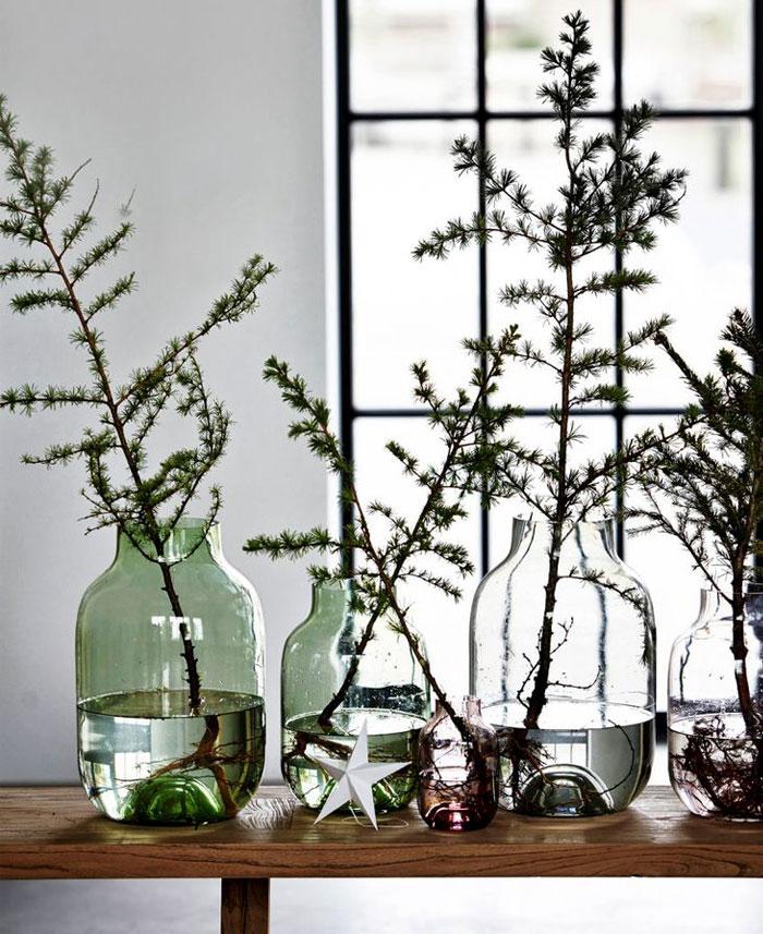 modern christmas decoration 2018 diy christmas tree alternatives 44