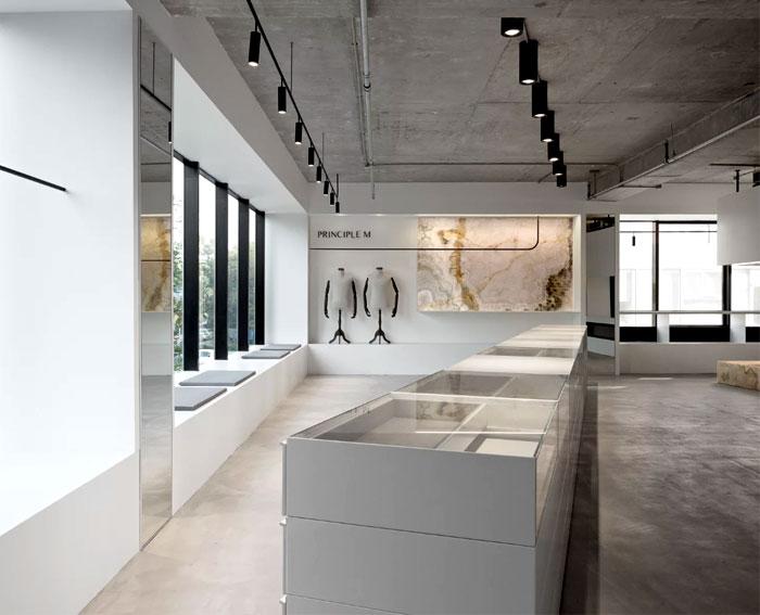 showroom decor minimalist furniture mddm studio 1