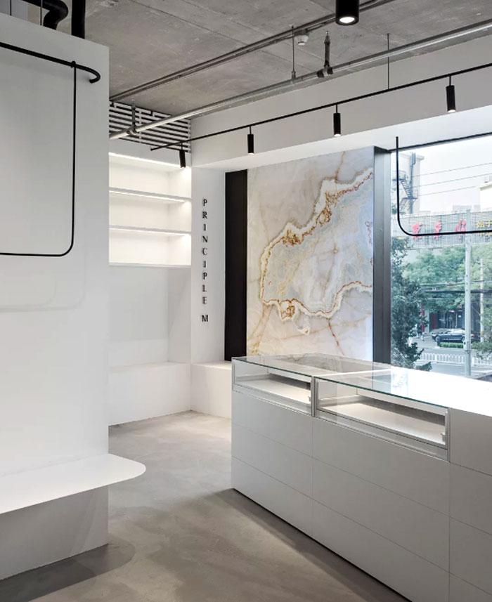 showroom decor minimalist furniture mddm studio 6
