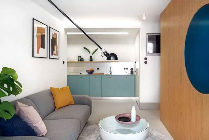 tiny apartment 30 sqm interurban 7