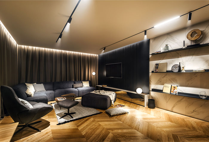 ultra modern apartment all in studio 15
