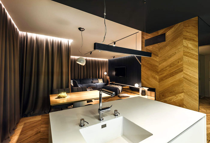 ultra modern apartment all in studio 7