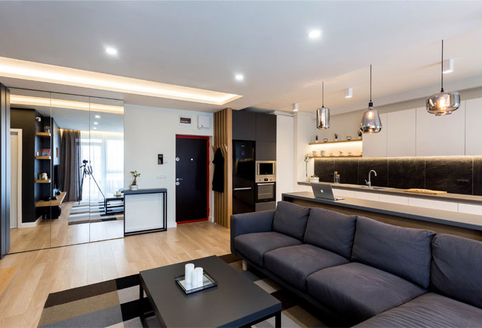 davidsign dark cozy 2 room apartment 1