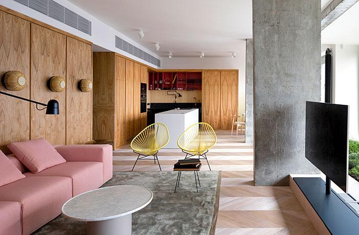 One Bedroom Apartment With Open Floor Plan Interiorzine
