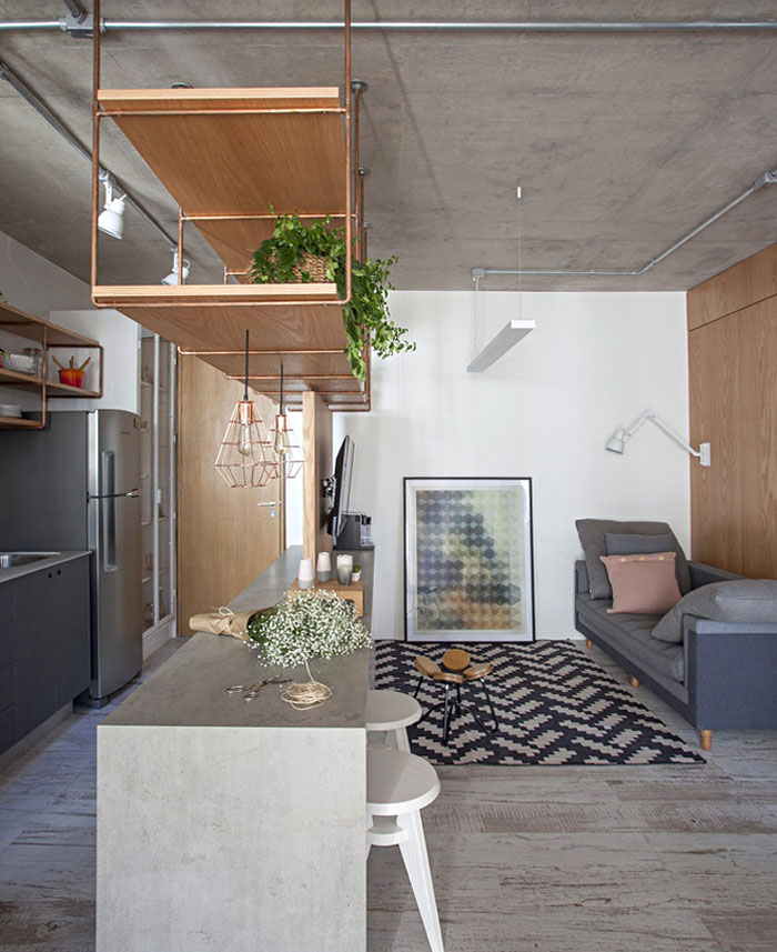 small studio apartment sao paulo 17