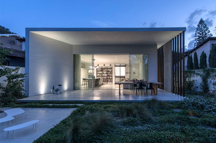 unusual geometry house tgf design 19