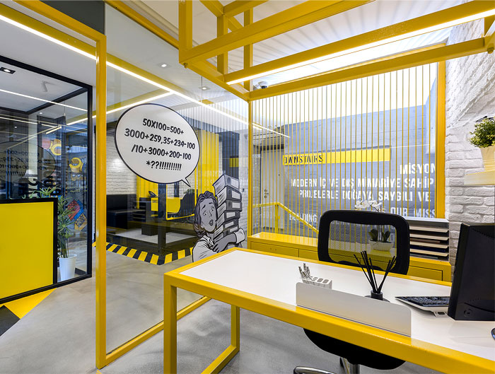 black yellow emre group office 25