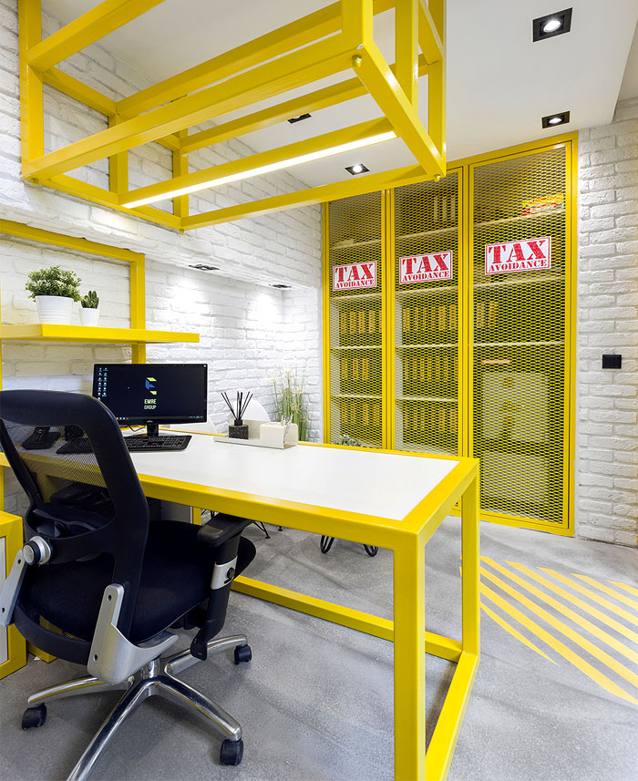 black yellow emre group office 26