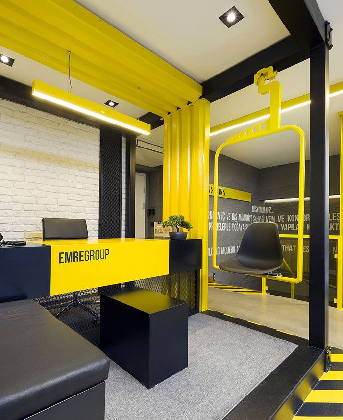 black yellow emre group office 33