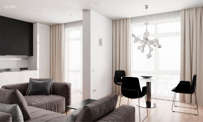 moscow apartment flow project 2